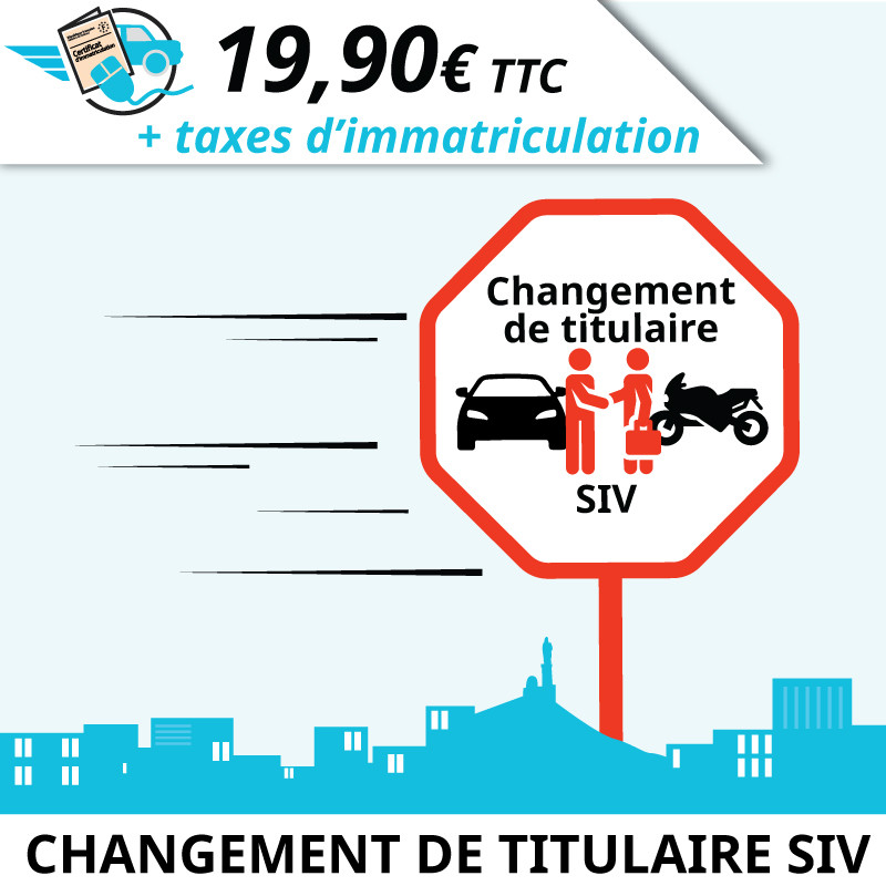 Démarche carte grise en ligne : Changement de propriétaire d'un véhicule français d'occasion