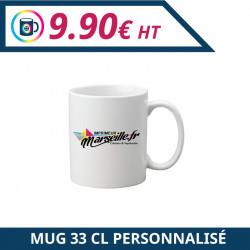 Imprimeur Marseille : Objet publicitaire mug personnalisable