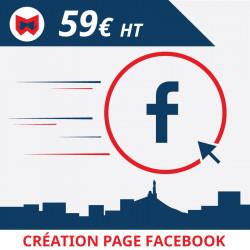 Design & Création de votre page Facebook